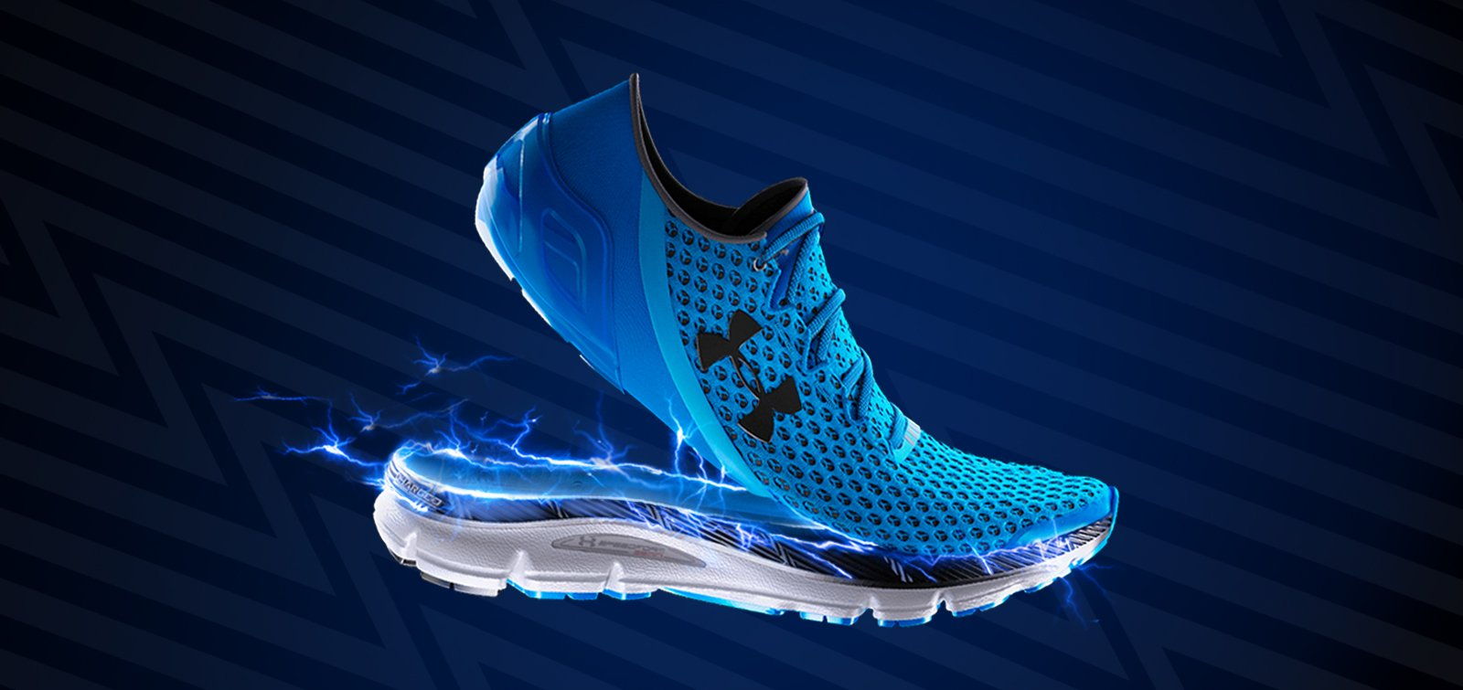 The Charged midsole, on of the highlights of the Under Armour Gemini.