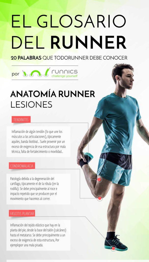 Lesiones más habituales al correr