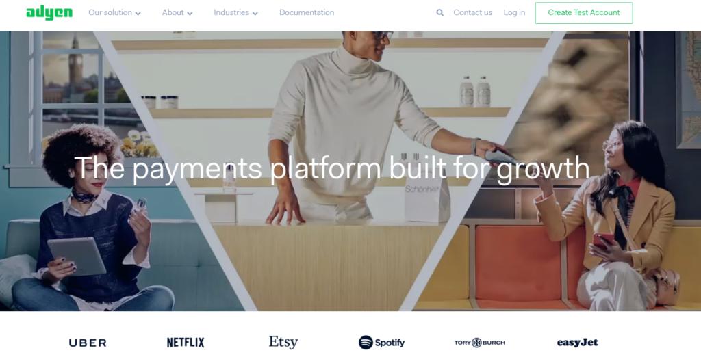 Adyen plataforma de pago